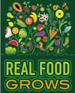 Poster - real food grows